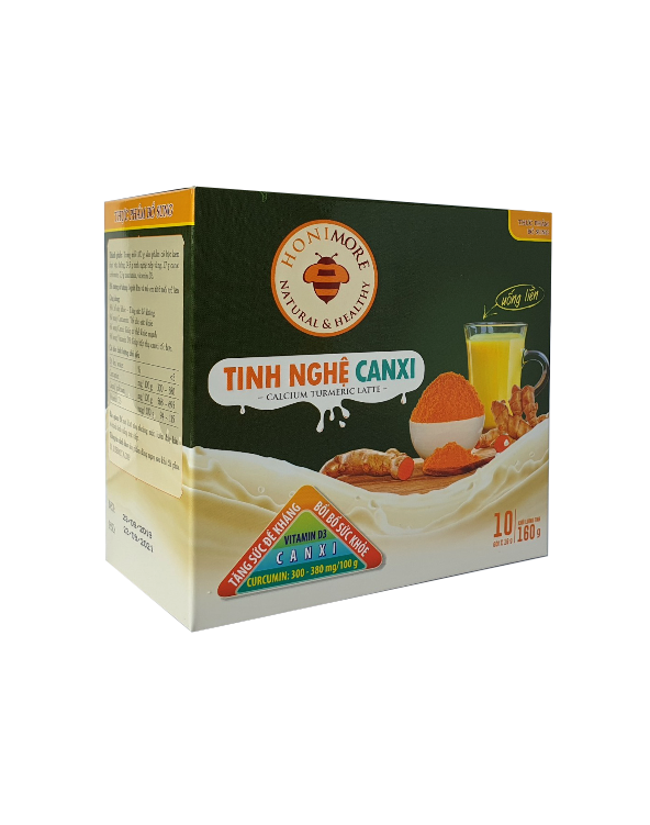 Honimore Calcium Turmeric Latte 160g