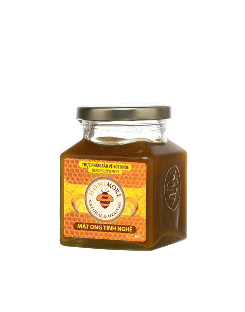 Honimore Ripe Honey + Turmeric Extract 360g