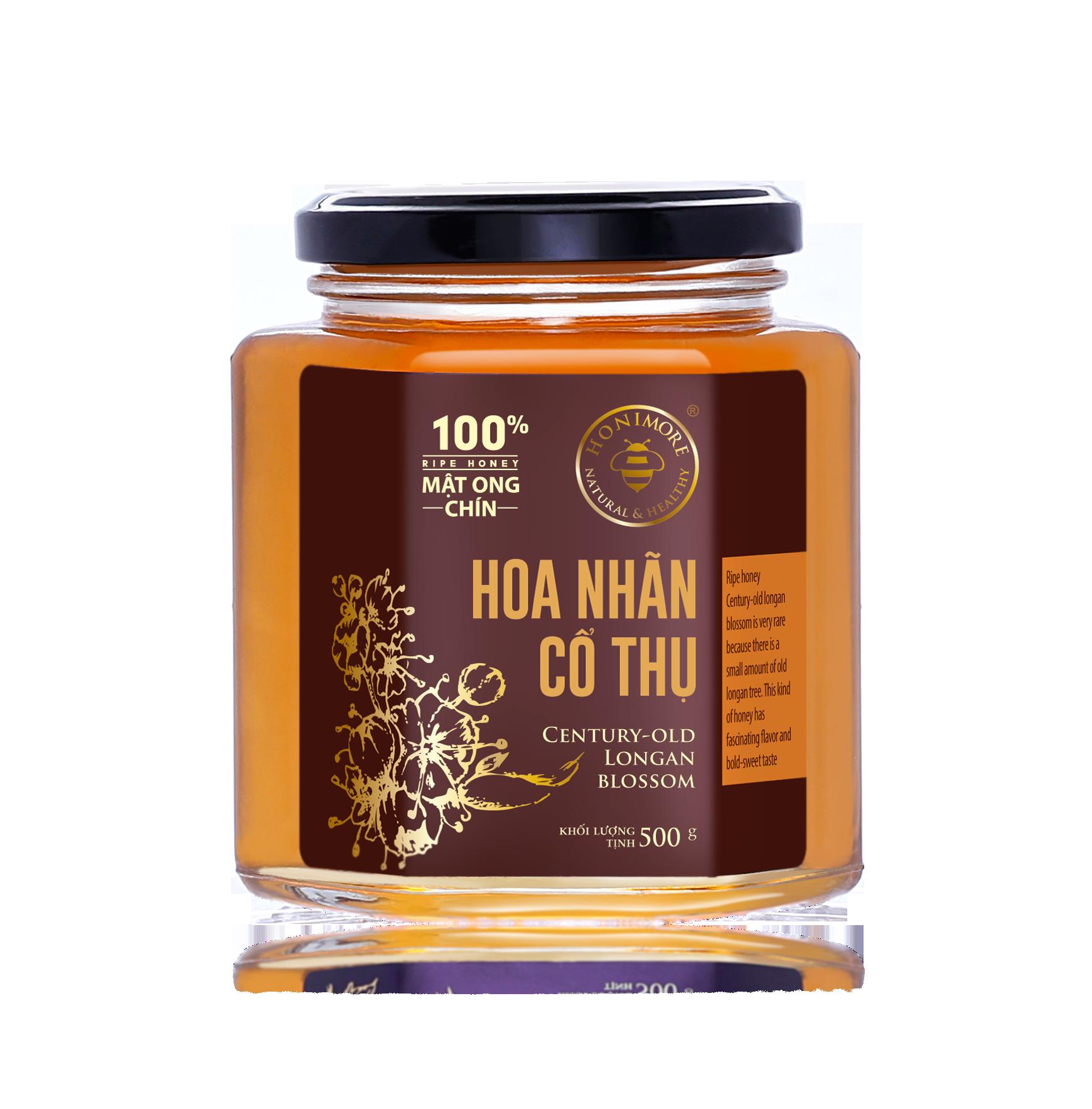 Honimore Ripe Honey - Century Old Longan Blossom 500g
