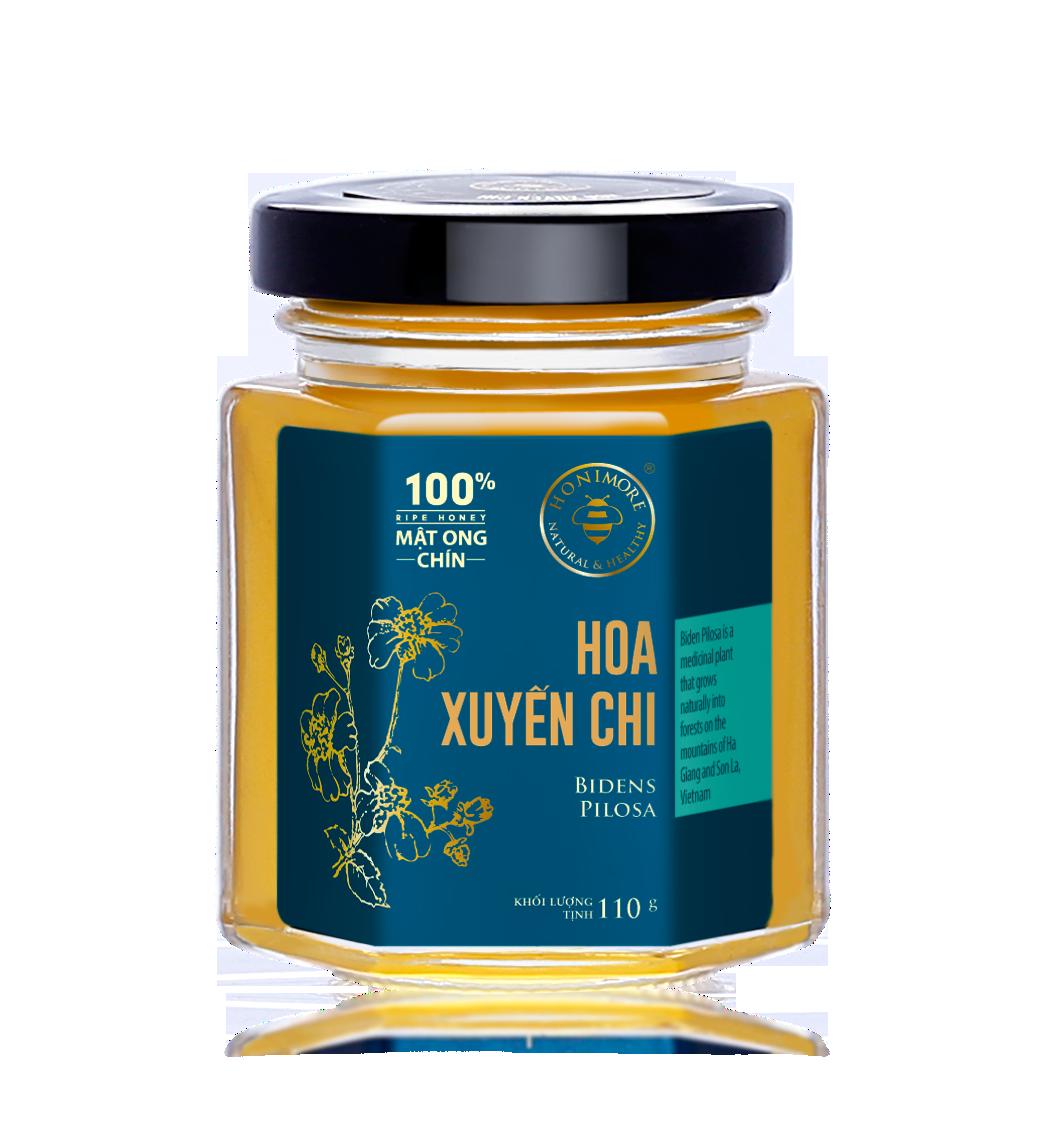 Honimore Ripe Honey - Biden Pilosa Flowers 110g