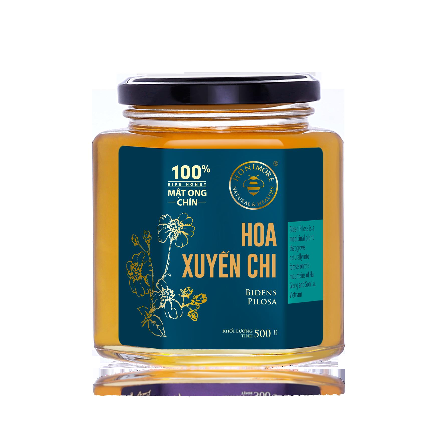 Honimore Ripe Honey - Biden Pilosa Flowers 500g