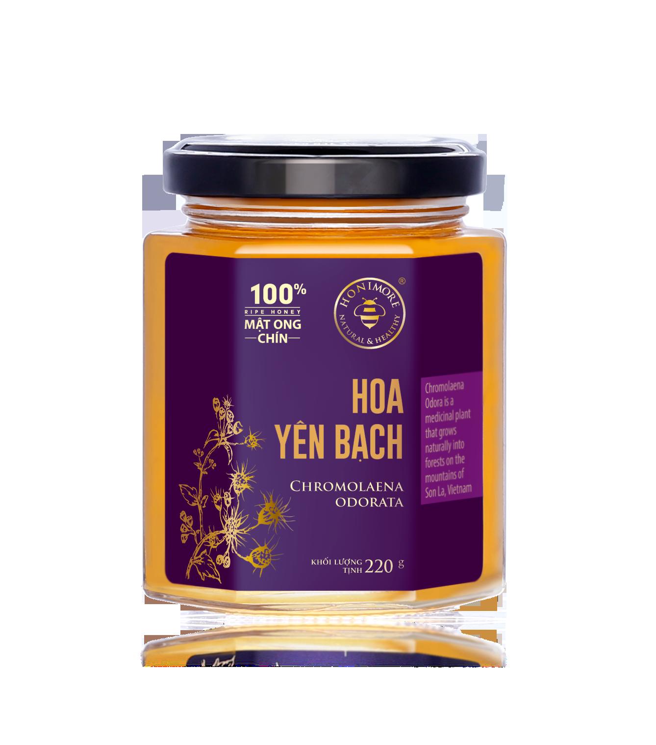 Honimore Ripe Honey - Chromolaena Odora Flowers 230g