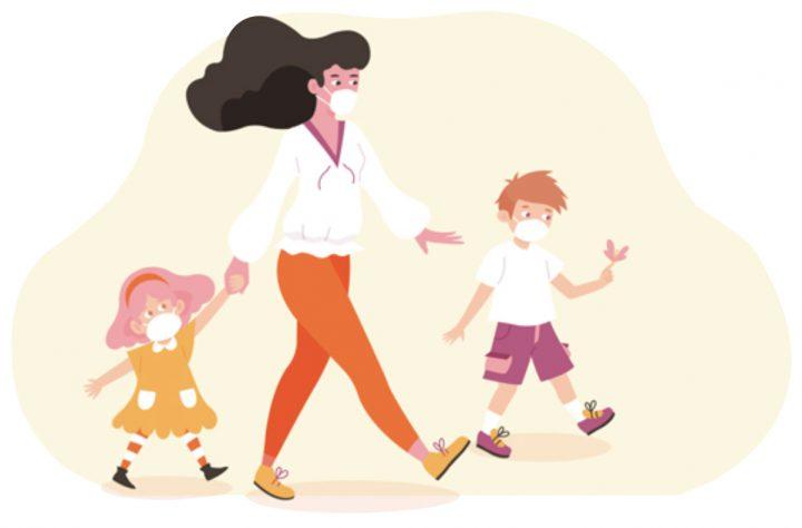 4 chú ý sức khoẻ cho trẻ khi Covid -19 bùng phát trở lại